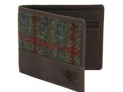 Breanais Harris Tweed Wallet (Brown)
