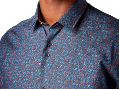Remus Unono Tapered Floral Shirt