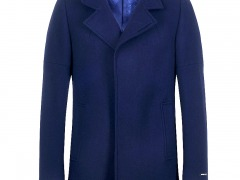 Remus Uomo Lohmann Tailored Navy Coat
