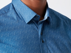 Remus Uomo Blue Shirt