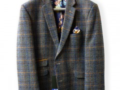 Scott Pure New Wool Check Jacket