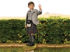Grey Tweed Highland Boy !K