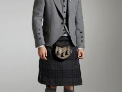 Light Grey Tweed Jacket