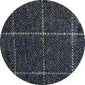Blue Tweed Check
