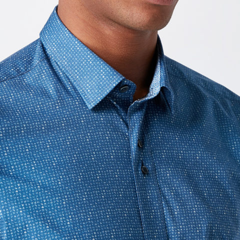 Remus Uomo_Blue Shirt