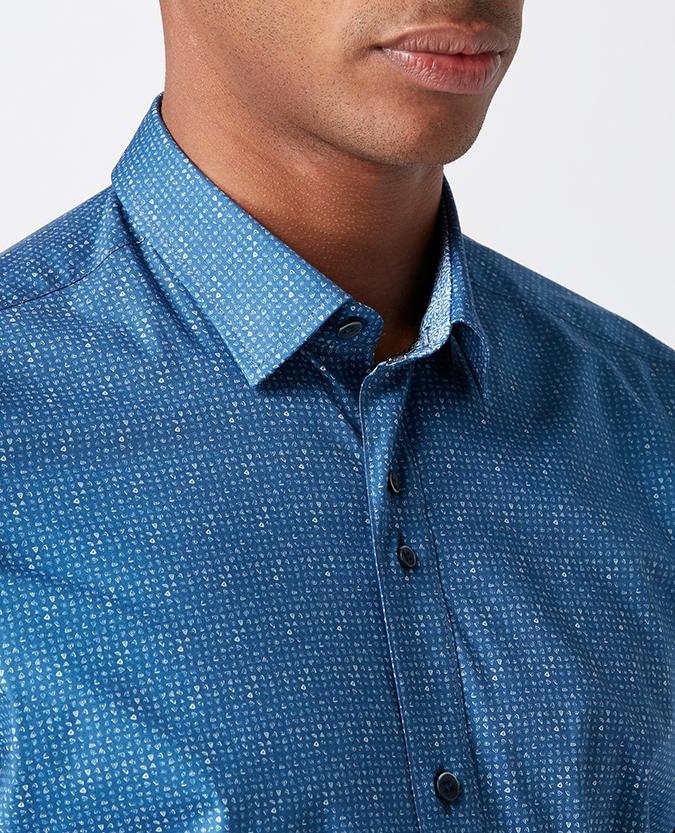 Remus Uomo_Blue Shirt